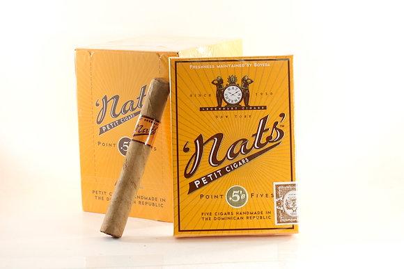 Nat Sherman Nat's Point Fives Cigars Natural 25pk