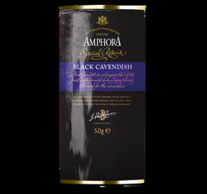 Amphora Black Cavendish Pipe Tobacco 1.75 oz Pouch
