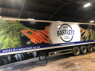 Full HGV Trailer Wrap