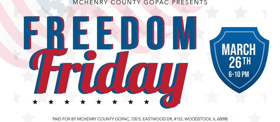Freedom Friday - Let the 2022 Campaigns Begin!