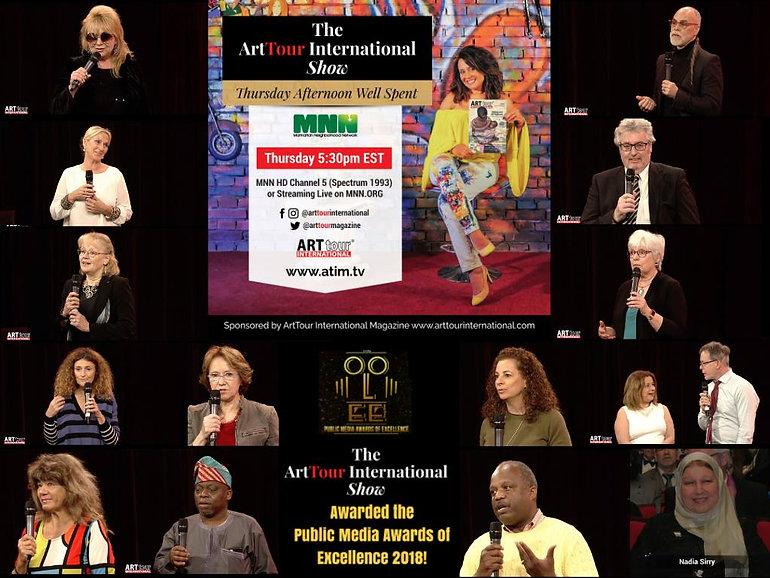 award-winning artists sharing their peac