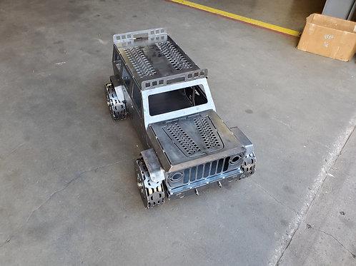 3D Jeep 4 Door Fire Pit