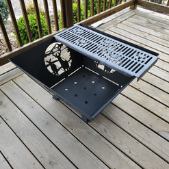 Deer Firepit with Grill