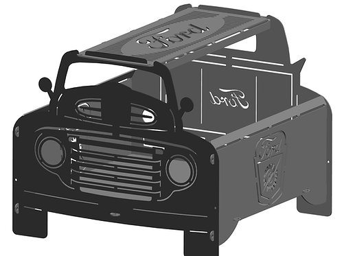 Ford Truck Fire Pits