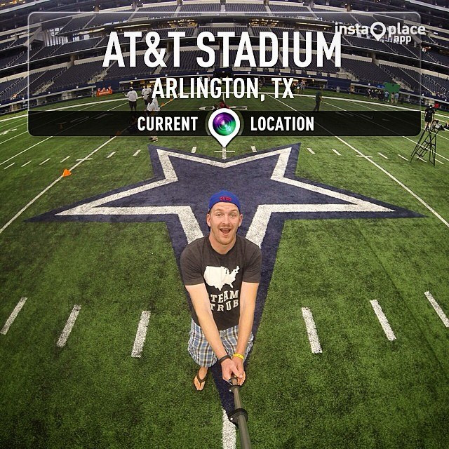 Facebook - Welcome to Jerry World. #TeamStrub #Day62 #CowboysTour #Cowboys #ATTS