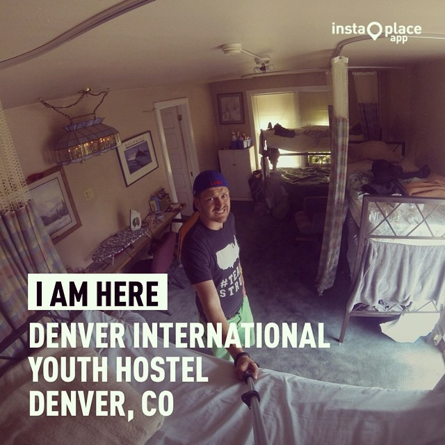 Instagram - Super thrilled to be at the #Denver Int'l #Hostel tonight ... #TeamS