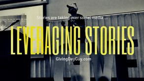 An actionable Instagram Stories strategy to lead up to your Giving Day