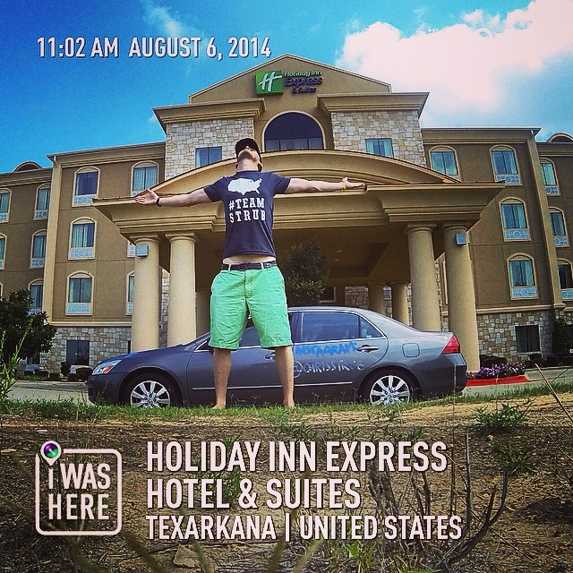 Instagram - I may not have a job, but I did stay in a @HIExpress last night. #Te