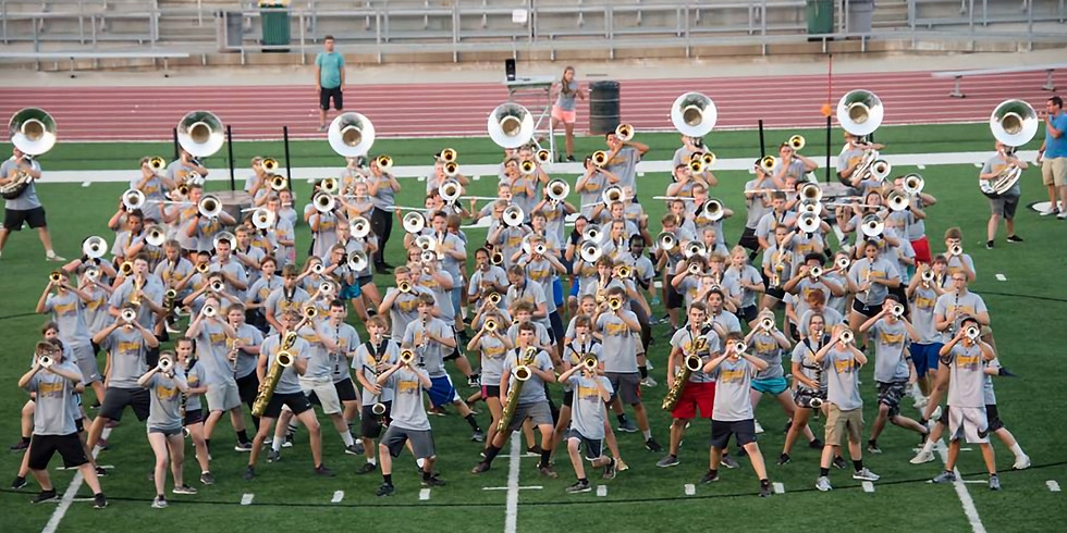 6th Annual Roosevelt High School Marching Band Clinic Pre-view Show