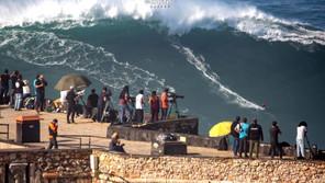 NAZARÉ: ONZE ONDAS SURFADAS NA PRAIA DO NORTE SÃO CANDIDATAS AOS PRÉMIOS WSL