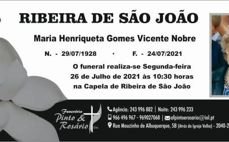 RIBEIRA DE SÃO JOÃO