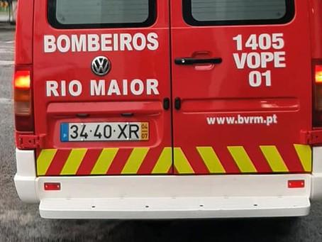 RIO MAIOR: ATROPELAMENTO EM CASAL FILIPE DEIXA HOMEM EM ESTADO GRAVE