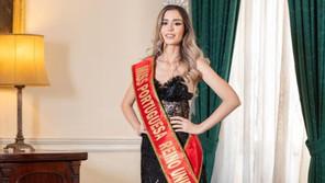 JOVEM DE CALDAS DA RAINHA COROADA MISS FRIENDSHIP PORTUGAL