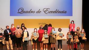 AGRUPAMENTO DE ESCOLAS MARINHAS DO SAL ENTREGOU DIPLOMAS DE QUADRO DE MÉRITO