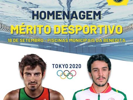 BENEDITA SPORT CLUBE NATAÇÃO HOMENAGEIA ATLETAS OLÍMPICOS