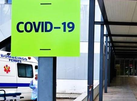 QUINZE PROFISSIONAIS DE SAÚDE DO HOSPITAL DE SANTARÉM INFETADOS COM COVID-19