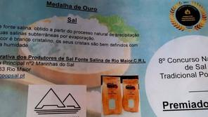 RIO MAIOR: SAL E FLOR DE SAL DA COOPERATIVA VENCEM MEDALHA DE OURO