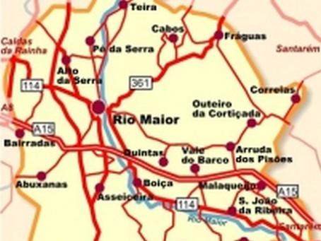 CONCELHO DE RIO MAIOR VOLTA A ESTAR EM RISCO MUITO ELEVADO
