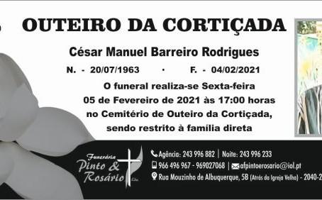 OUTEIRO DA CORTIÇADA