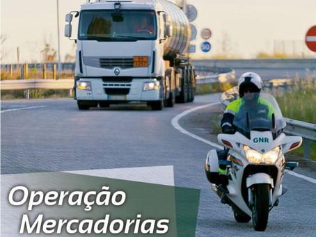 """GNR INICIA HOJE A OPERAÇÃO """"MERCADORIAS PERIGOSAS"""""""