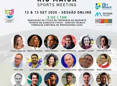 RIO MAIOR SPORTS MEETING É O MAIOR EVENTO DE EDUCAÇÃO DESPORTIVA REALIZADO EM PORTUGAL