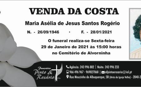 VENDA DA COSTA