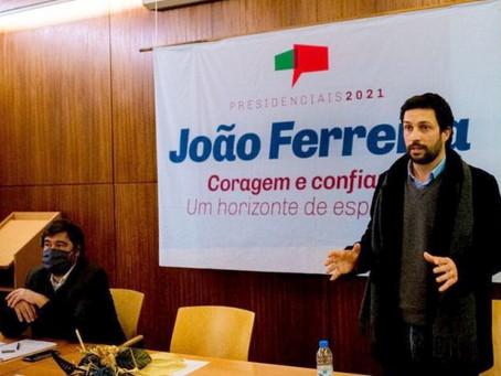 CANDIDATO À PRESIDÊNCIA DA REPÚBLICA JOÃO FERREIRA VISITOU A ESDRM