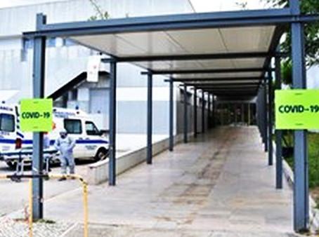 CINCO UTENTES DO LAR FAUSTA SEQUEIRA NOBRE INFETADOS COM COVID-19 JÁ FORAM TRANSPORTADOS AO HOSPITAL