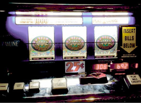 A origem dos slots de casinos
