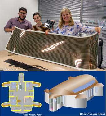 Minas Indígena conhece o Painel Fotovoltaico Orgânico