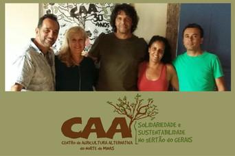 Minas Indígena busca apoio do Centro de Agricultura Alternativa do Norte de Minas