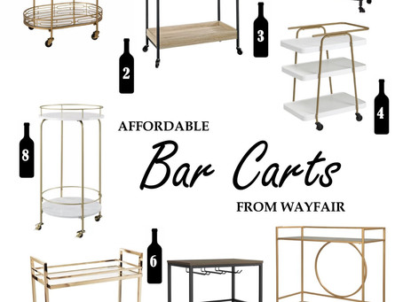 Wayfair Bar Carts Under $200