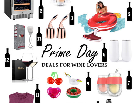 Amazon Prime Day Deals for Wine Lovers 2021