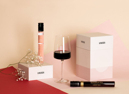 "Nothing says ""I love you"" like a box of... WINE!"