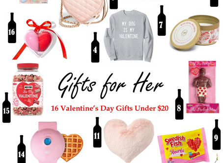 16 Valentine's Day Gifts for Her Under $20
