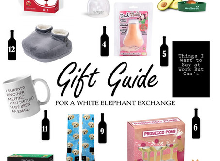 Gift Guide: for a White Elephant Exchange