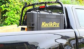 KwikPro in a pickup