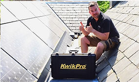 KwikPro is ideal for solar installs