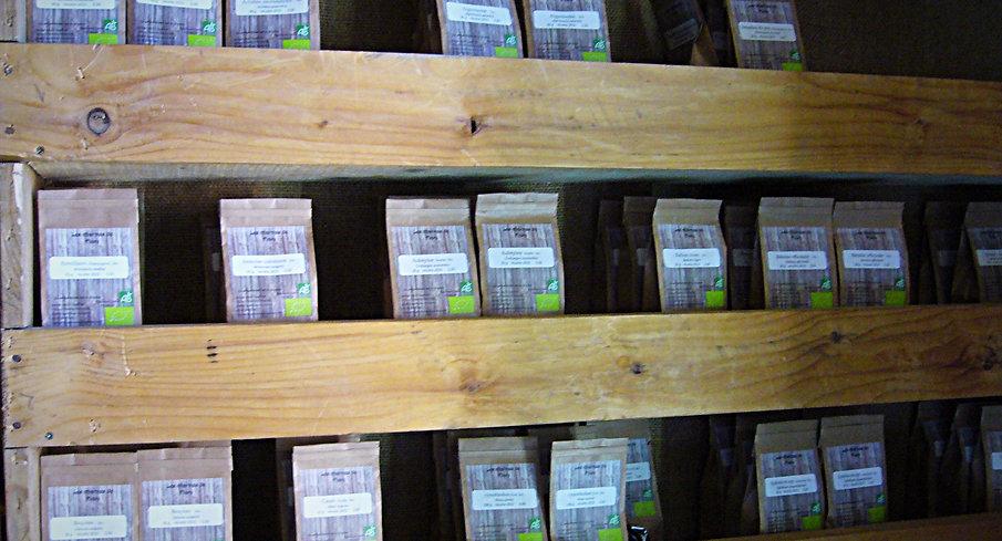 150 variétés de tisanes bio