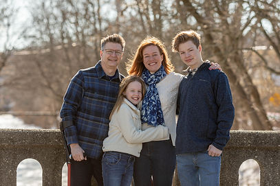 Leslie Schill and her family