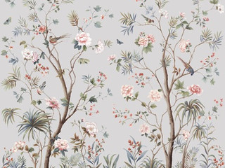 9' Wallpaper Panels from designer Jaima Brown... Several patterns and colorways to choose from.