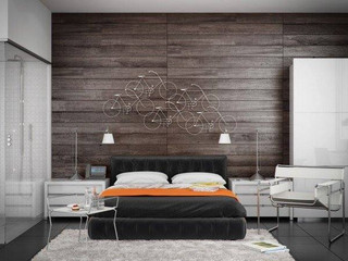 Creative new plank wall design