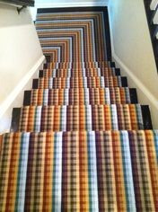 Custom Stair Runner Carpet by MISSONI