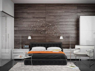 Wood Walls! Beautiful addition to easy room!