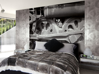 Photograph Murals and Co-ordinating Sidewalls Can Transform Your Room!