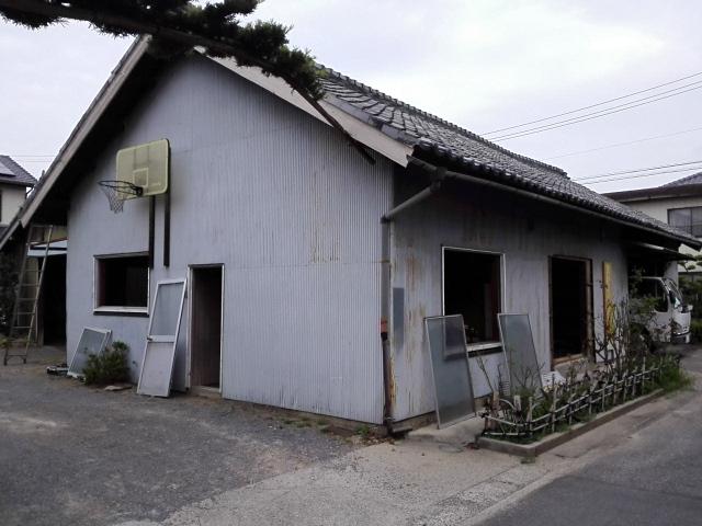 古い倉庫 解体前