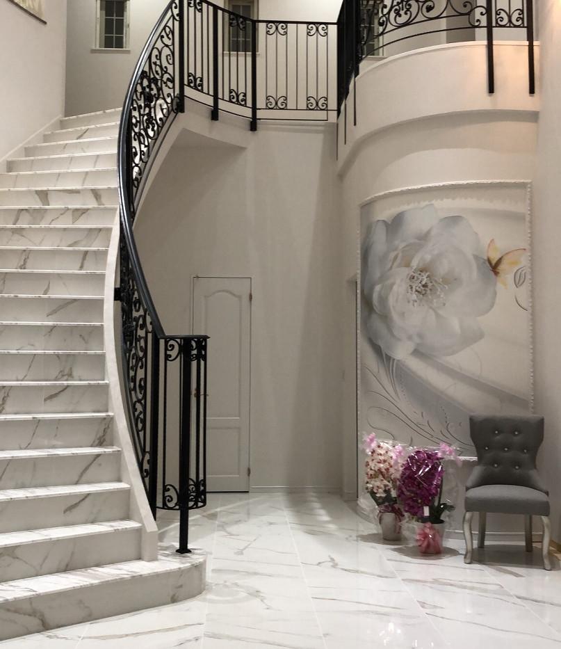 らせん階段 3D壁紙