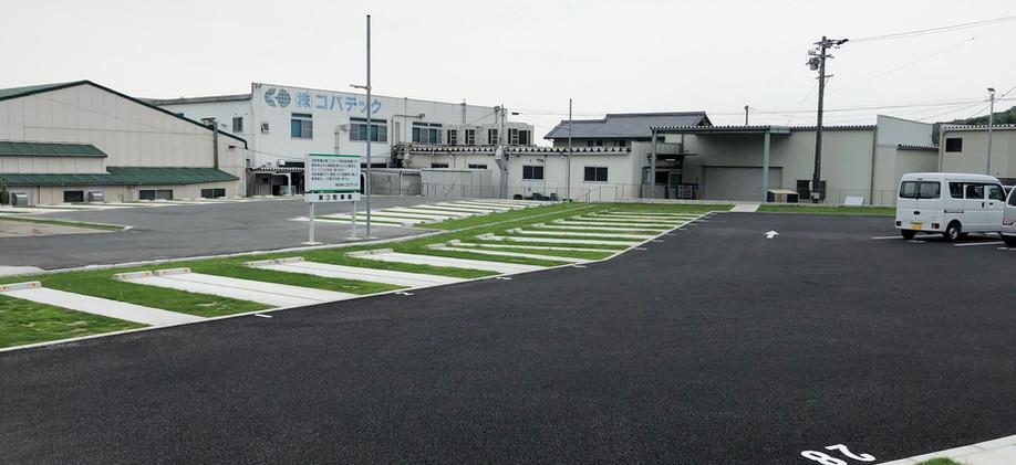 幸田町工場緑化