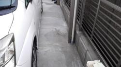 カーポートの排水も地下の排水へ