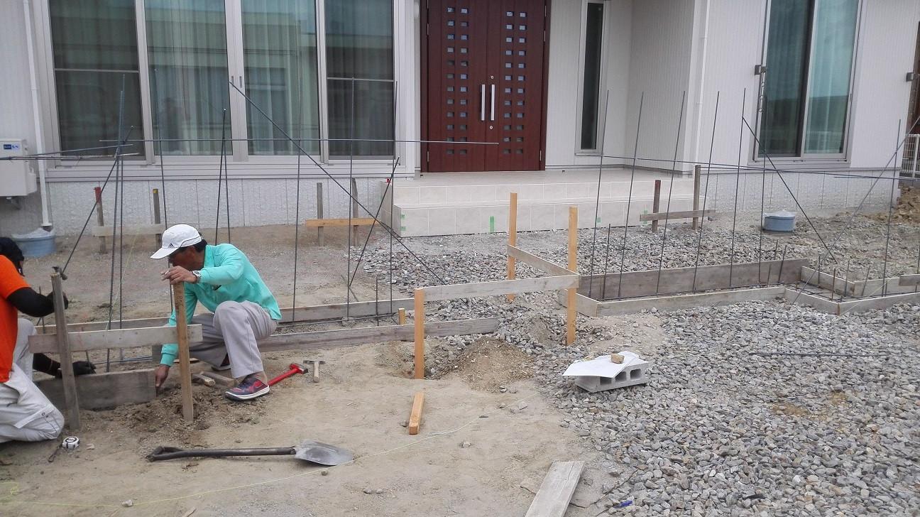 基礎コンクリート鉄筋